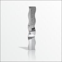 M3 Dalgalı Dikey Yatay Kullanılabilir Bantlı 120x27cm Boy Banyo Salon 3mm Kalın Akrilik Duvar Aynası