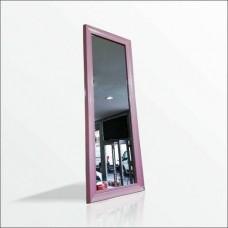 110cm Pudra Pembe Çerçeve Boy Salon Tuvalet Banyo Koridor Kapıyanı Soyunma Kabin Kolon Vitrin Aynası