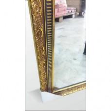 Altın Varak Çerçeve 40x100 cm Boy Salon Tuvalet Banyo Koridor Kapı Yanı Soyunma Kabini Kabin Aynası