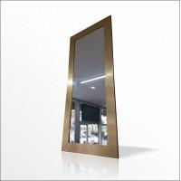Büyük 124x64cm Altın Yaldız Varak Boy Salon Antre Komodin Etajer Portmanto Duvar Tuvalet Aynası