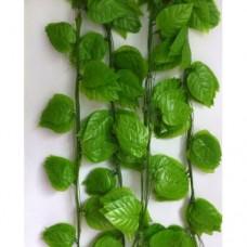 Doğalgaz Borusuna Köşe Dolap Üstü Masa Tv Ünite Altı Kenarı Süslemek İçin Uzun Yeşil Sarmaşık Yaprak