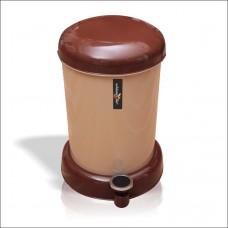 Kahverengi Mantar İtfaiye Musluğu Pedallı Kovalı Banyo Dükkan Masaaltı Mutfak Balkon Çöp Kovası