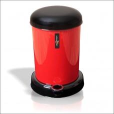 Kırmızı Mantar İtfaiye Musluğu Pedallı Kovalı Banyo Dükkan Masaaltı Mutfak Balkon Çöp Kovası Kutusu