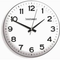 35cm Bombe Gerçek Camlı Camlı Okunaklı Kalın Rakkamlı Kadranlı Sayılı Kaliteli Garantili Duvar Saati
