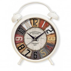 Renkli Çalar Saat Görünümlü Dev Ebat Dart Kadranlı Çalmayan Masa ve Duvar Saati